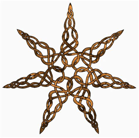 celtic seven pointed star by artistfire on deviantart