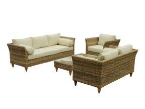 outdoor wicker 3 2 1 seater furniture lounge suite sofa