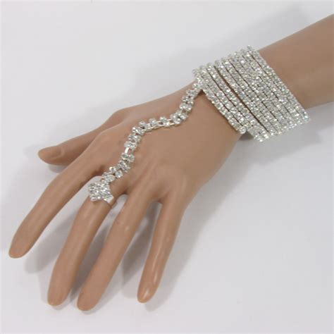 Hand Jewelry Connected Ring Bracelet   Caymancode