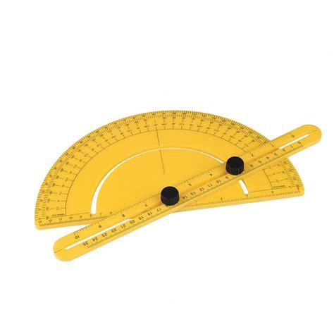 Multi Functional Ruler multi functional semi circular protractor angle finder arm