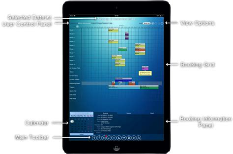 room scheduling software improving support for ipads and other touch screen devices midas web based room scheduling