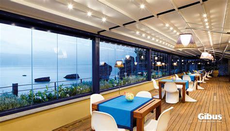 tende per ristorante coperture per ristoranti gibus atelier sardegna
