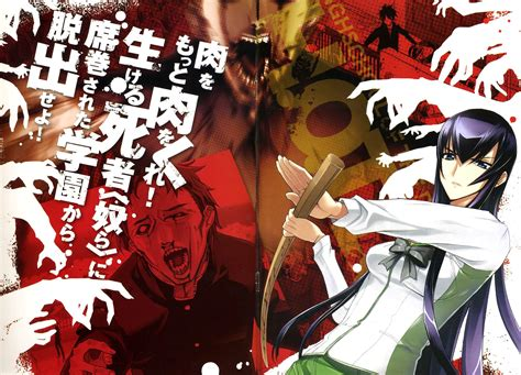 highschool of the dead highschool of the dead wallpapers hd