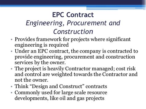 difference between design build and epc contract understanding the difference between epc and epcm contracts