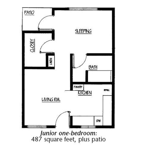 junior one bedroom junior 1 bedroom 28 images floorplans for apartments
