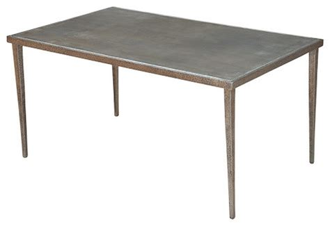 dimpled metal coffee table contemporary coffee tables
