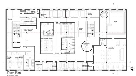 massage spa floor plans health and wellness spa on behance