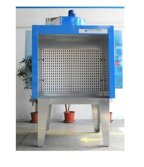 cabina di verniciatura a secco platform type painting booth mod pcs tecnoazzurra