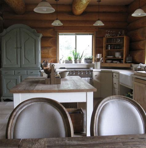 Modern Rustic Home Decor by 8 Features Every Log Home Should Have Incredible Kitchen