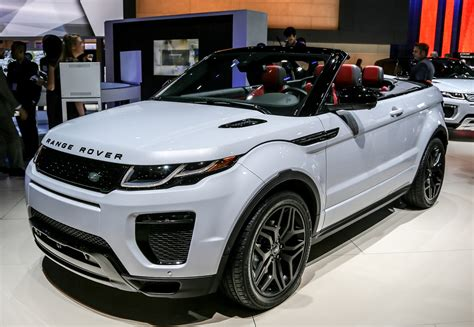 Unique Front Doors by 2018 Range Rover Evoque Convertible Review And Features