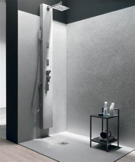 piatti doccia da rivestire pannello rivestimento pareti bagno e doccia design moderno