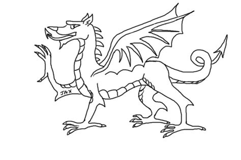 welsh dragon coloring page colouring pages welsh dragon coloring pictures of dragons