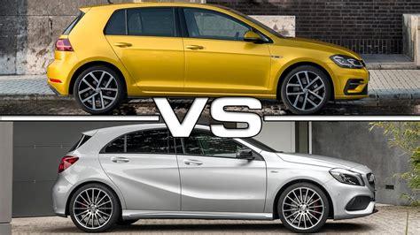 volkswagen vs mercedes 2017 volkswagen golf vs mercedes a class