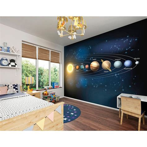brewster wall murals brewster planets wall mural wals0270 the home depot