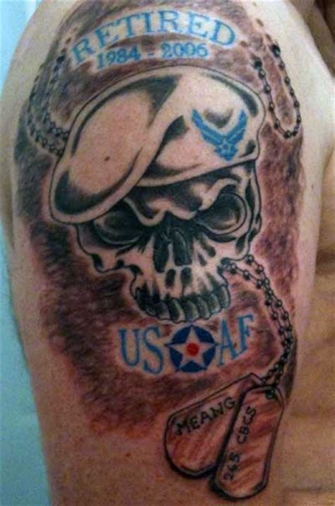 can you have tattoos in the air force air skull tattoos design tattoomagz