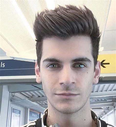Pompadour Hairstyle For by Fashionable Pompadour Hairstyles For 2017 Mens