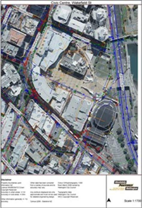 maps scaled maps wellington city council