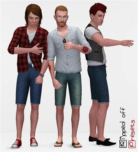 Ripped Model 4 by Mod The Sims Ripped For