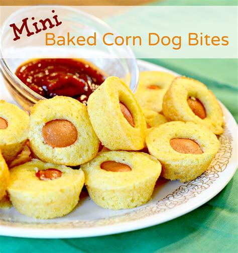 baked corn dogs mini baked corn dogs bless this mess