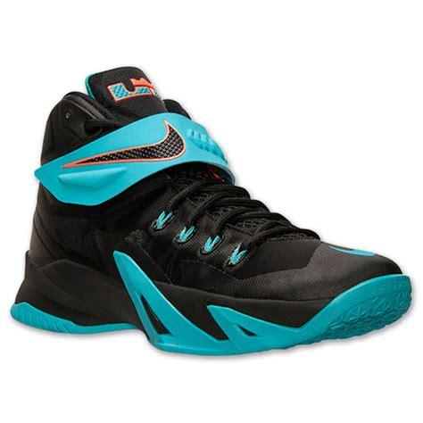 lebron mens basketball shoes s nike zoom lebron soldier 8 basketball shoes black