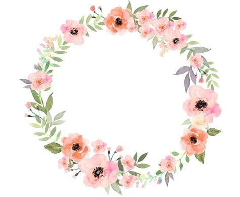 Qw Wallpaper Sticker Tiny Flower Arrangement Maroon watercolour flower wreath clip digital png vector pintando en cer 225 mica dise 241 o