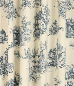 Upholstery Fabric Discount Online Toile De Jouy Fabric Blue Just Fabrics