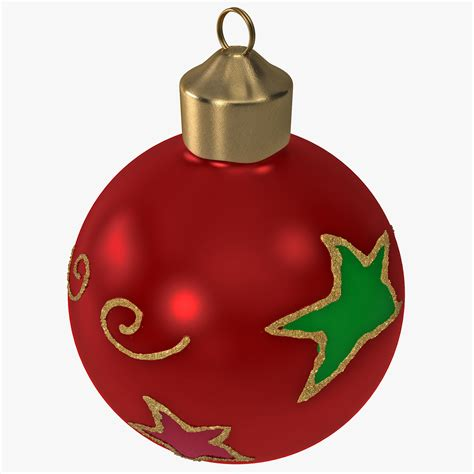 christmas ornament ball 2 3d 3ds