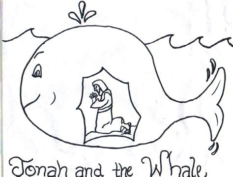 jonah and the whale clip art free jonah coloring pages
