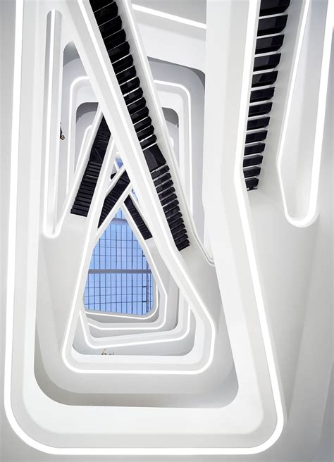 Zaha Hadid Office by Dominion Office Building In Moscow Russia By Zaha Hadid