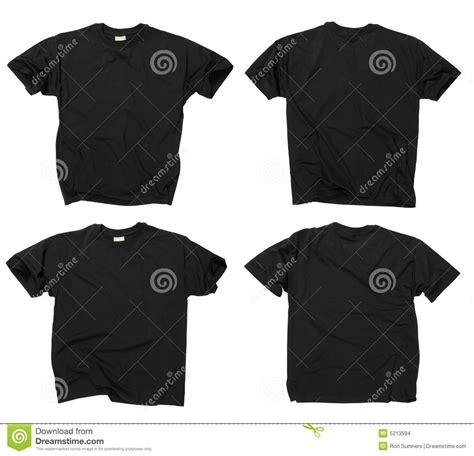imagenes camisetas negras camisetas negras en blanco frente y parte posterior