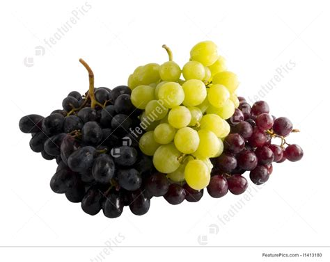 food fresh red black and white grapes stock image