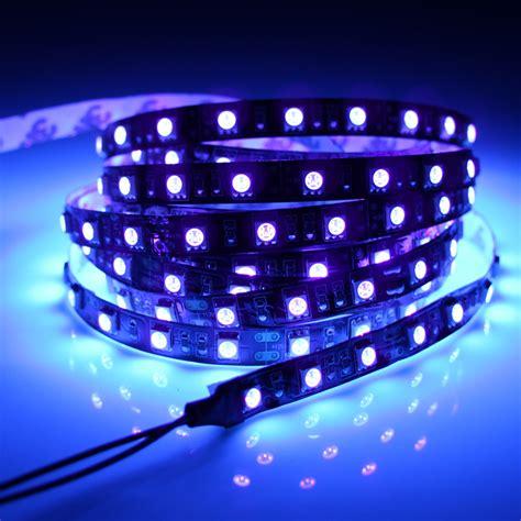 black light led strip produs 12v uv ultraviolet 395 405nm led strip black
