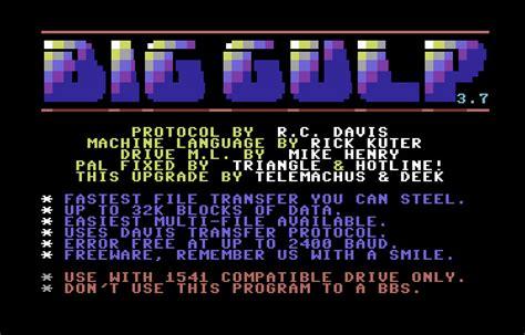 gulp format html commodore software big gulp v3 7