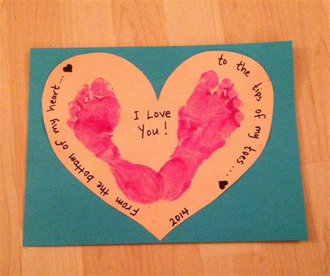 valentines day pintrest s day foot craft valentines day