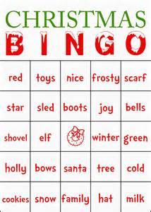 Printable christmas bingo new calendar template site