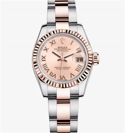 Rolex Datejust Combi Gold For replica swiss rolex datejust everose rolesor combination of 904l steel and 18 ct