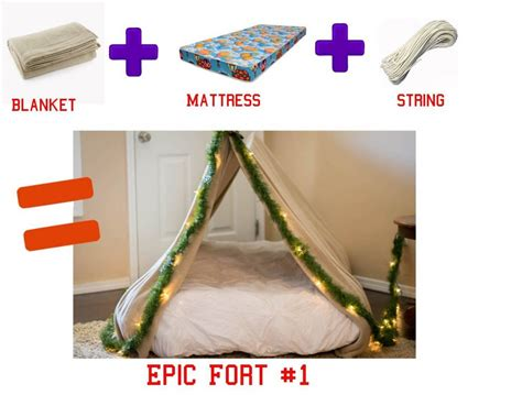 How To Make A Bed Fort by 3 Easy Diy Forts Using Household Items The Realistic