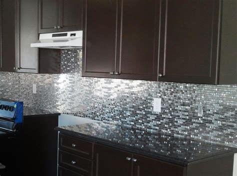 Metal Kitchen Backsplash Ideas Backsplash Collections By Keramin Tiles Http Www
