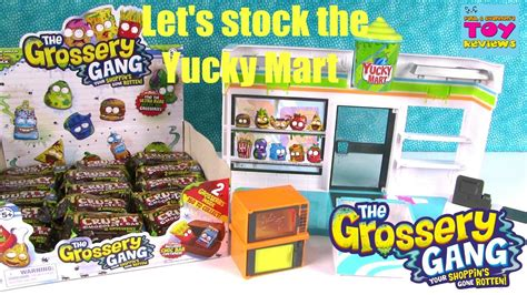 the grossery inside the yucky mart seek and find books grossery yucky mart blind bag crusty chocolate bar