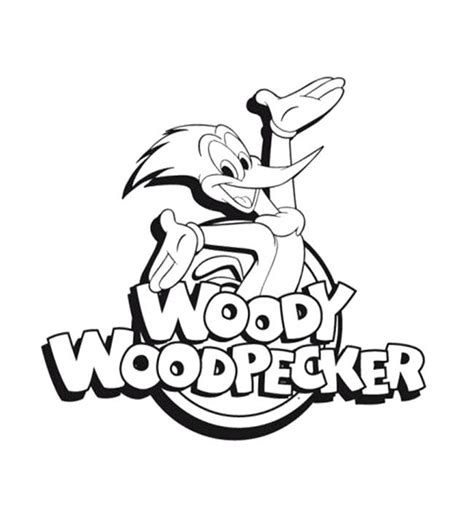 woody woodpecker the movie coloring page kids coloring