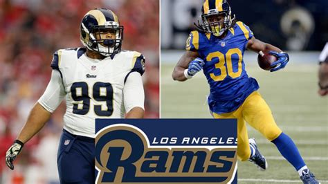la rams players 7 most exciting los angeles rams players 171 cbs los angeles