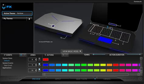 alienware keyboard themes download rainbow by mike alienware 15 r2 theme alienware fx themes