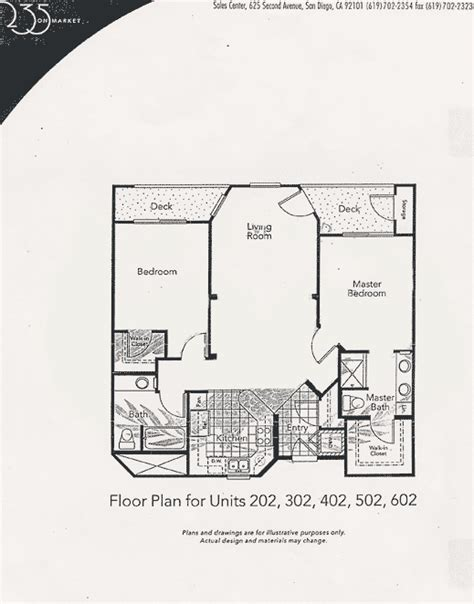 market floor plan 235 on market floor plan unit 202 302 402 502 602