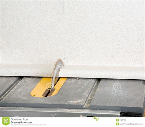 Cutting Formica Countertop Circular Saw by Saw Blade Cutting Laminate Stock Images Image 7429114
