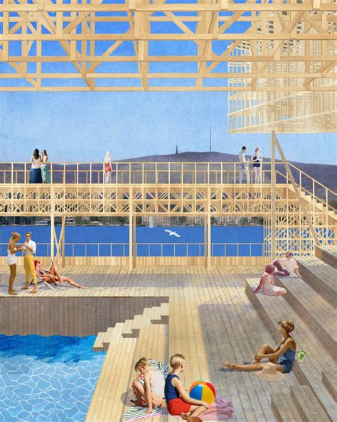 pavillon of reflections students at eth zurich design floating pavilion for