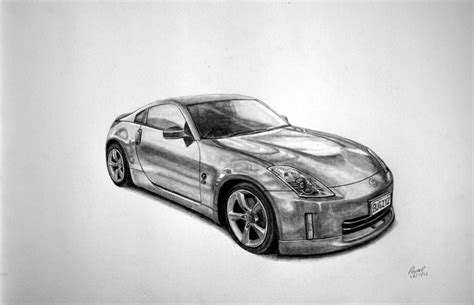 nissan 350z drawing nissan 350z drawing by pavee12120 on deviantart