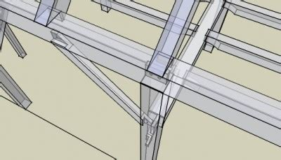 timber frame design using sketchup sketchup 171 mike beganyi design and consulting llc