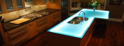 Kitchen Countertop Options Modern Kitchen Countertops From Materials 30 Ideas