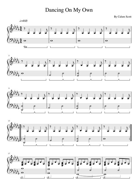 calum scott you are the reason tutorial sheets youtube dancing on my own sheet music for piano and keyboard
