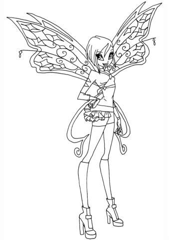 winx club believix coloring pages believix tecna coloring page free printable coloring pages